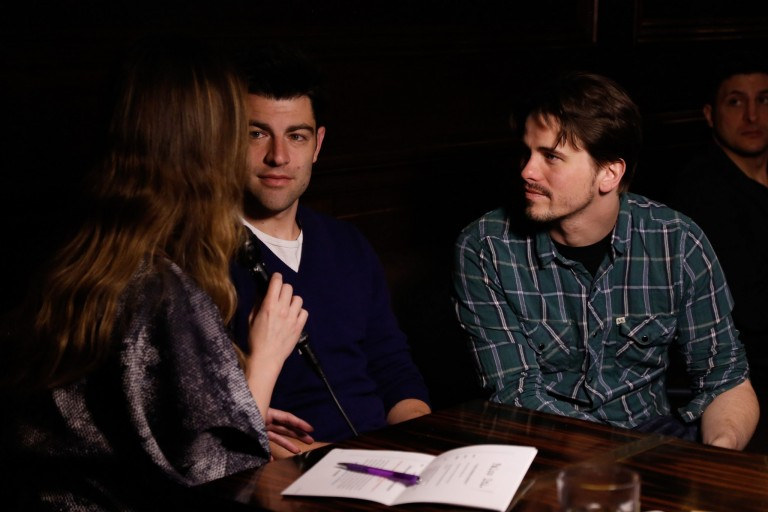 TFF 14 – Max Greenfield & Jason Ritter discussing ABOUT ALEX