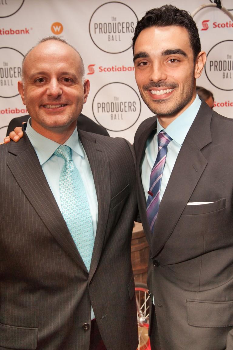 Actor/Producer Steven Morana & Marco Timpano of HUNTER'S MOON