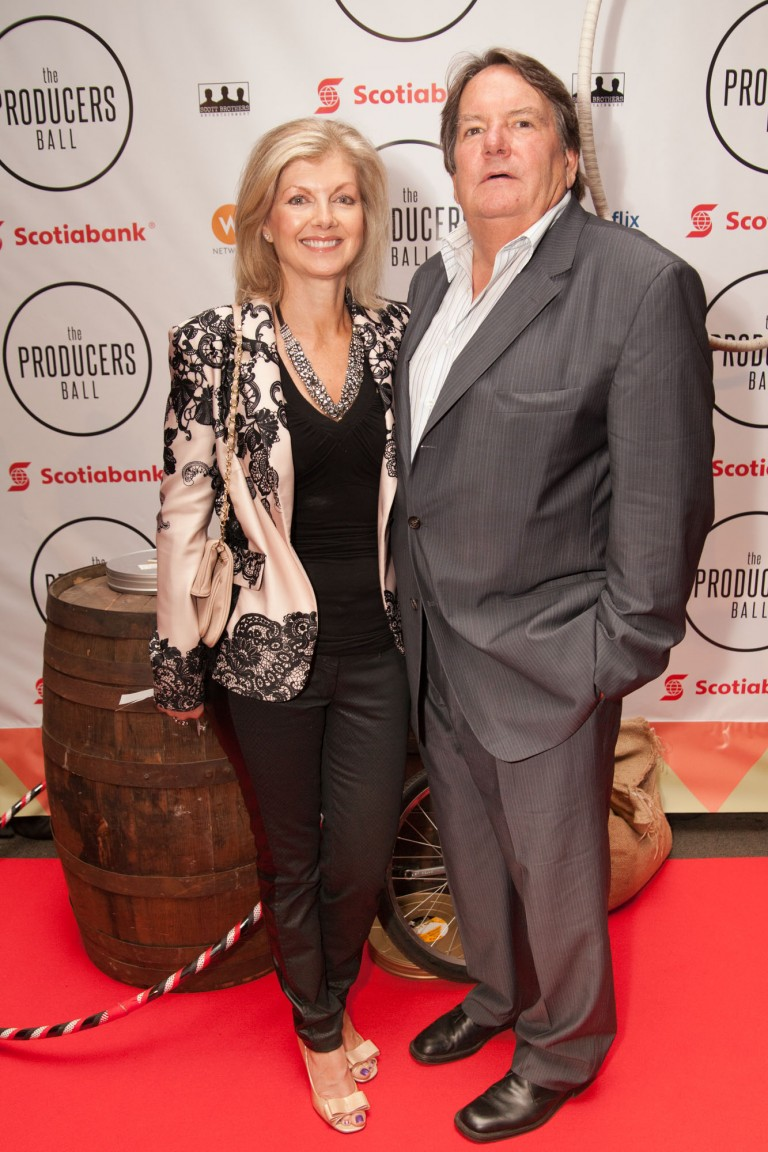 Producer Don Carmody & his wife Catherin Gourdier