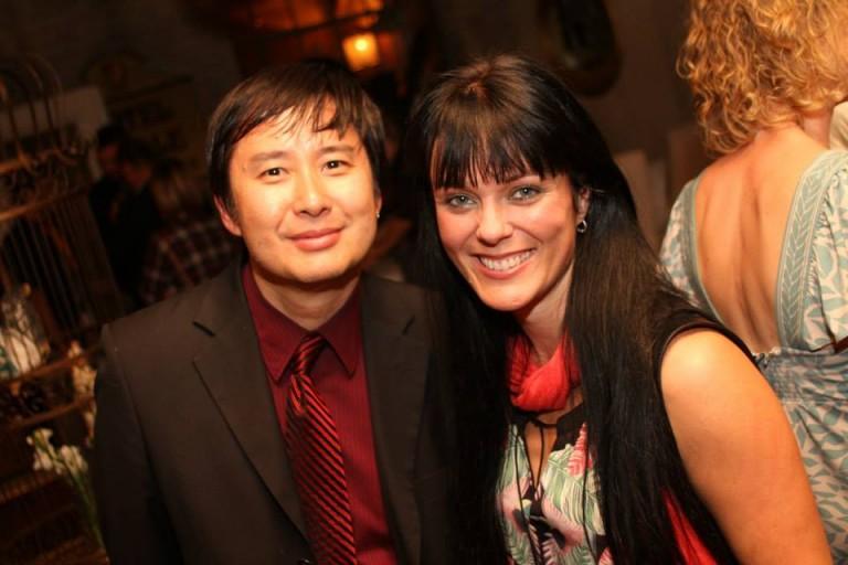 Directors Allan Tong & Michelle Latimer