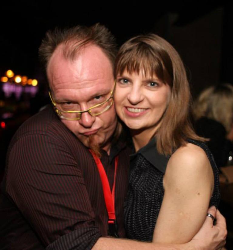 Filmmaker Zefred & Paula Kaye