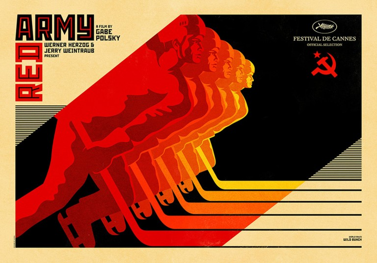 Cannes Film Festival RED ARMY Poster
