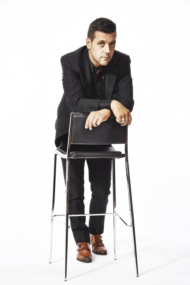 George Stroumboulopoulos of Hockey Night in Canada