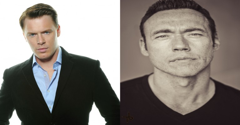 2015 Canadian Screen Awards Presenters Diego Klattenhoff & Kevin Durand
