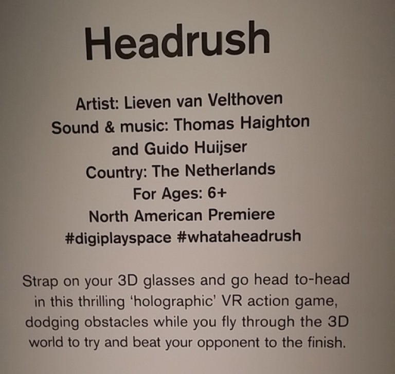 #headrush at #digiPlaySpace