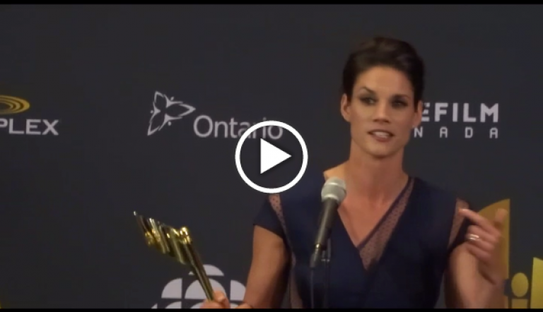 Missy Peregrym Talks About Interaction With The ROOKIE BLUE Fans