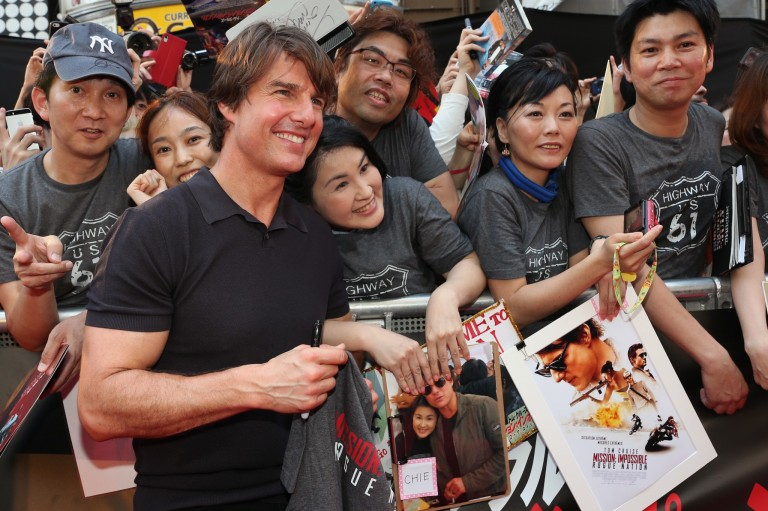 Tom Cruise @ Japan Premiere MISSION IMPOSSIBLE – ROGUE NATION