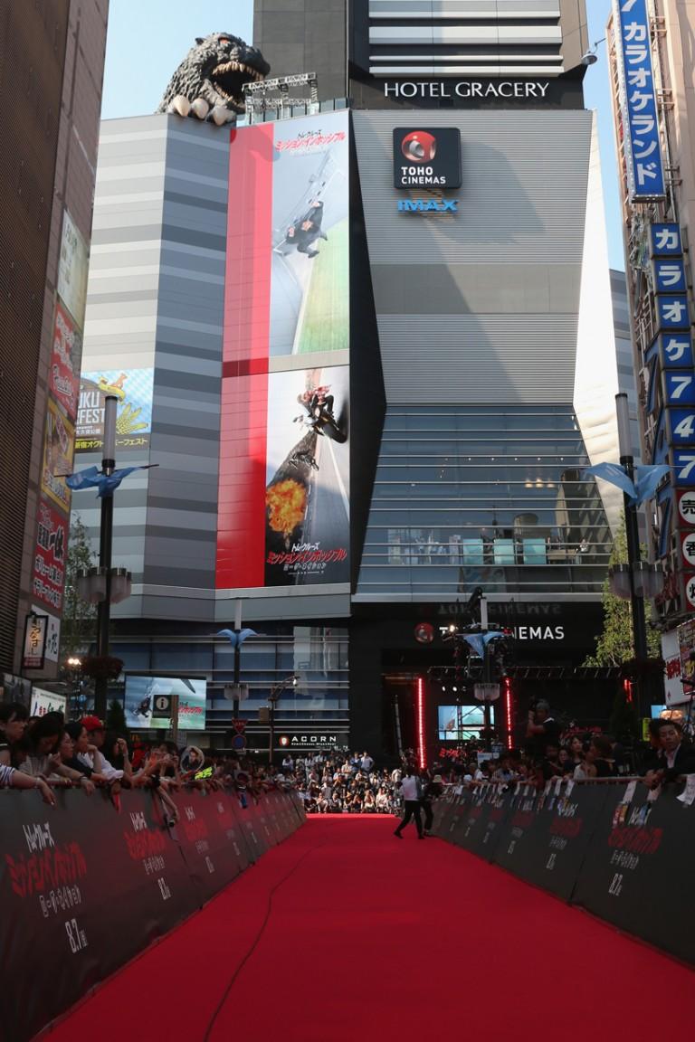 MISSION IMPOSSIBLE – ROGUE NATION Premieres at Toho Cinemas Shinjyuku