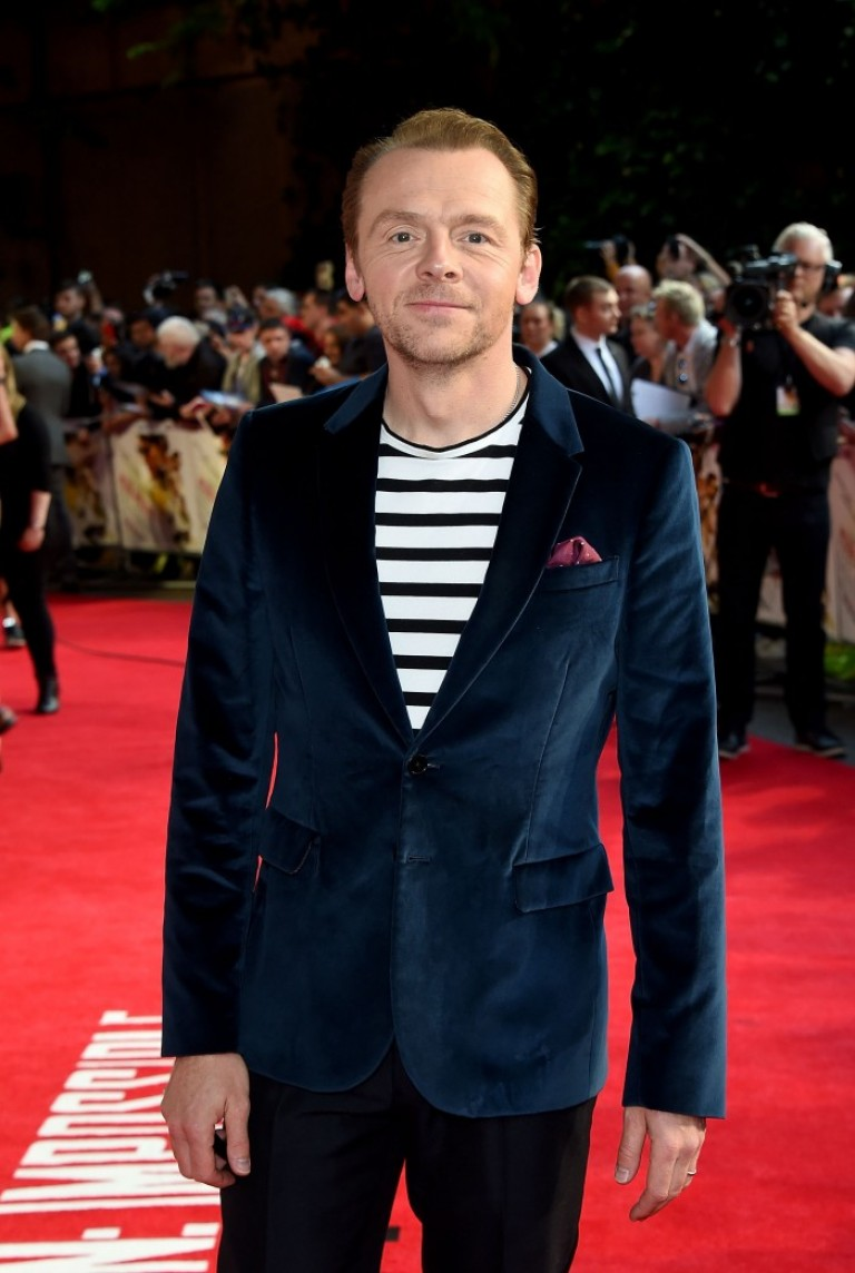 Simon Pegg @ UK Fan Screening MISSION IMPOSSIBLE – ROGUE NATION