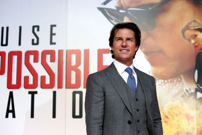 Tom Cruise @ UK Fan Screening MISSION IMPOSSIBLE – ROGUE NATION