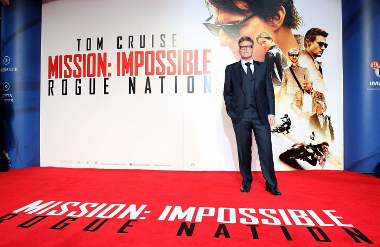 Christopher McQuarrie @ UK Fan Screening MISSION IMPOSSIBLE – ROGUE NATION