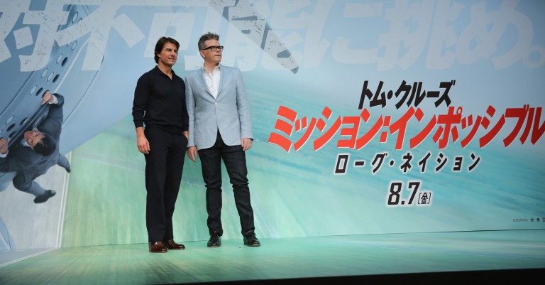Tom Cruise & Christopher McQuarrie @ Japan Press Conference MISSION IMPOSSIBLE – ROGUE NATION