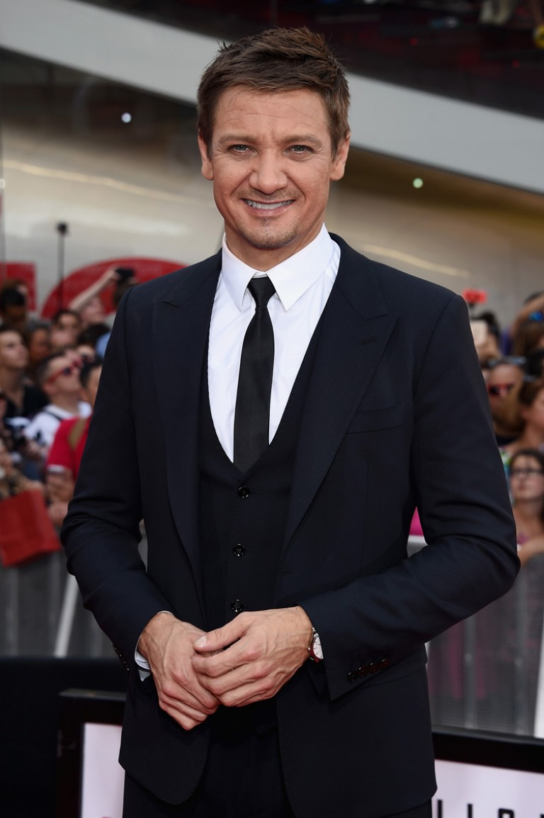 Jeremy Renner @ New York Premiere MISSION IMPOSSIBLE – ROGUE NATION