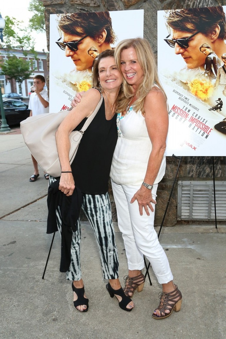 Mary Savello & Jane Hanson @ Hampton Screening MISSION IMPOSSIBLE – ROGUE NATION