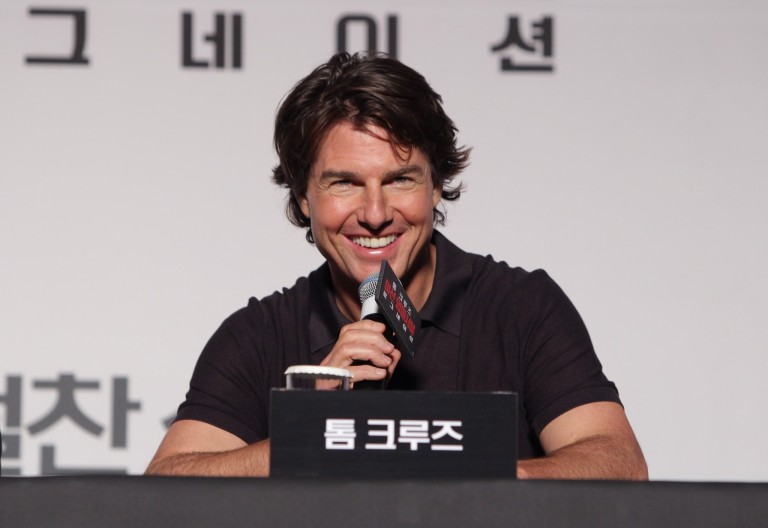 Tom Cruise @ Seoul Press Conference MISSION IMPOSSIBLE – ROGUE NATION