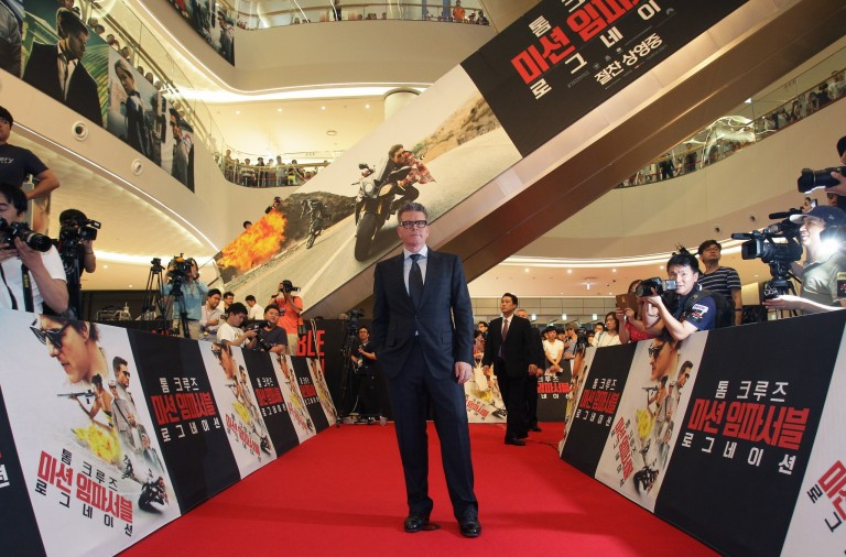 Christopher McQuarrie @ Seoul Premiere MISSION IMPOSSIBLE – ROGUE NATION