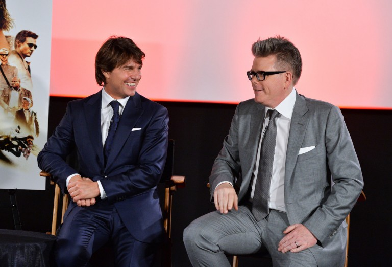 Tom Cruise & Chrisopher McQuarrie @ MISSION IMPOSSIBLE – ROGUE NATION Canadian Fan Premiere