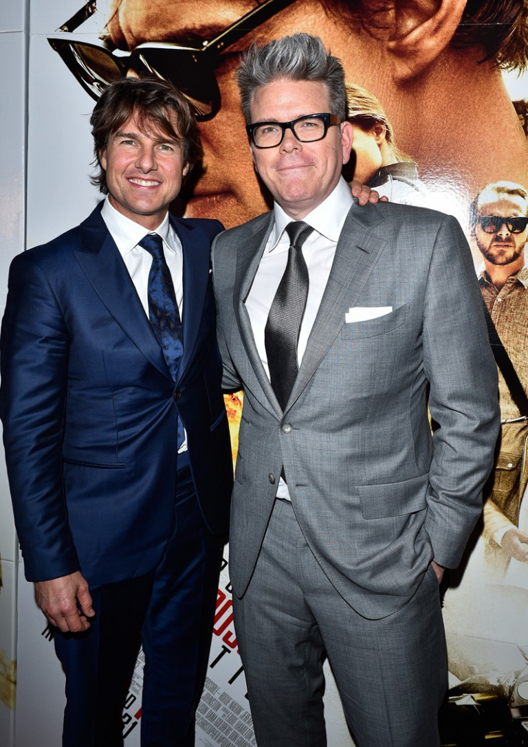 Tom Cruise & Christopher McQuarrie @ MISSION IMPOSSIBLE – ROGUE NATION Canadian Premiere in Toronto