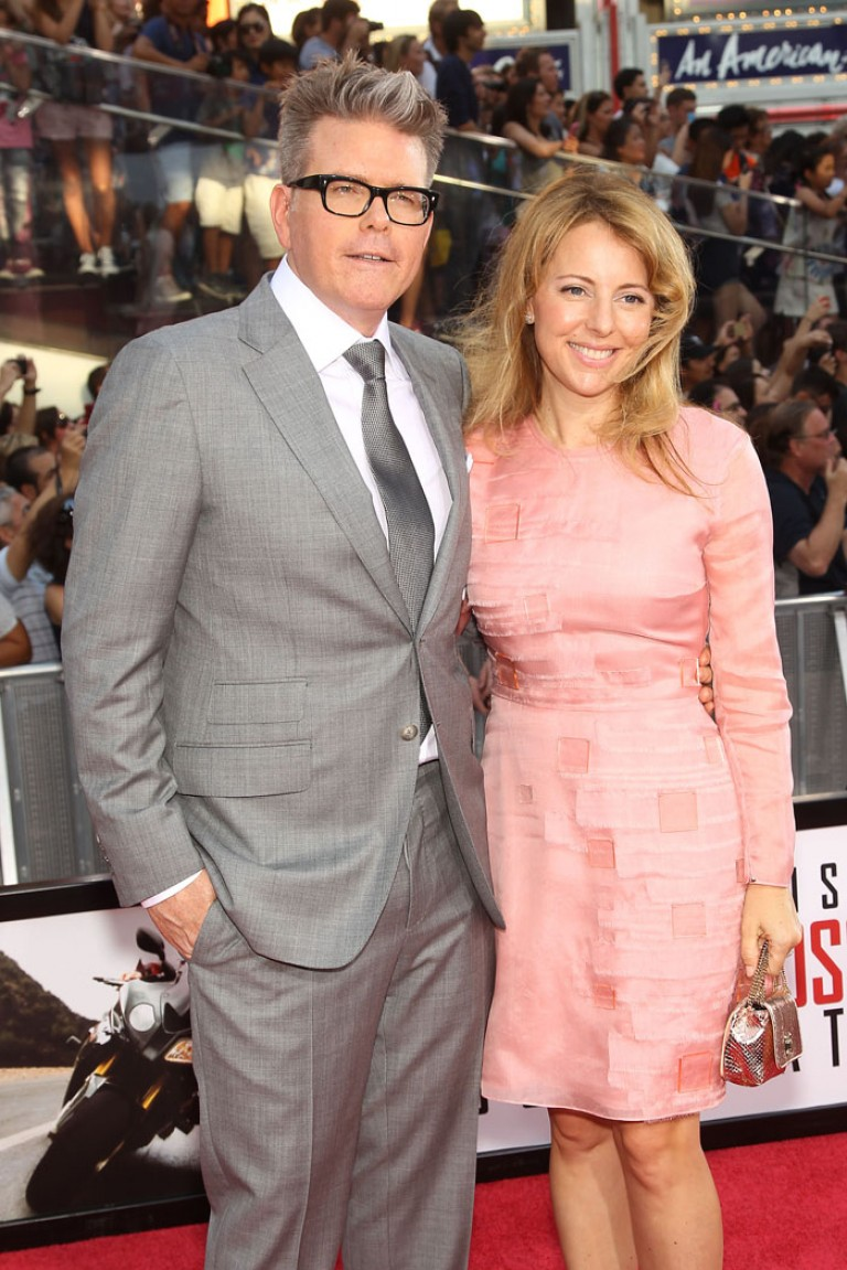 Christopher McQuarrie & Heather McQuarrie @ NY Premiere MISSION IMPOSSIBLE – ROGUE NATION