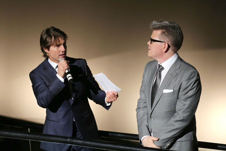Tom Cruise & Christopher McQuarrie @ NY Premiere MISSION IMPOSSIBLE – ROGUE NATION