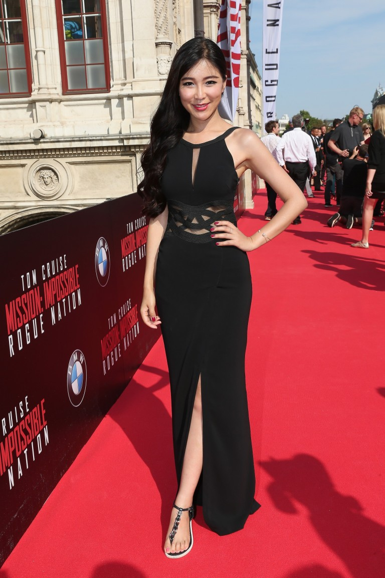 Betty Zhou @ Vienna World Premiere MISSION IMPOSSIBLE – ROGUE NATION