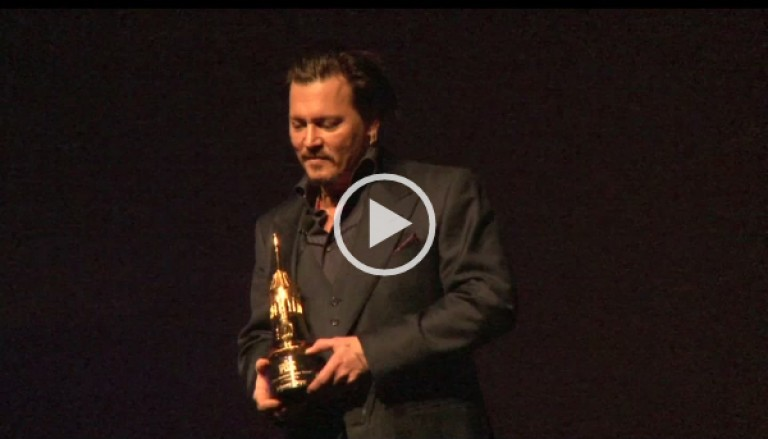 Johnny Depp Maltin Modern Master Award Winner Acceptance Speech