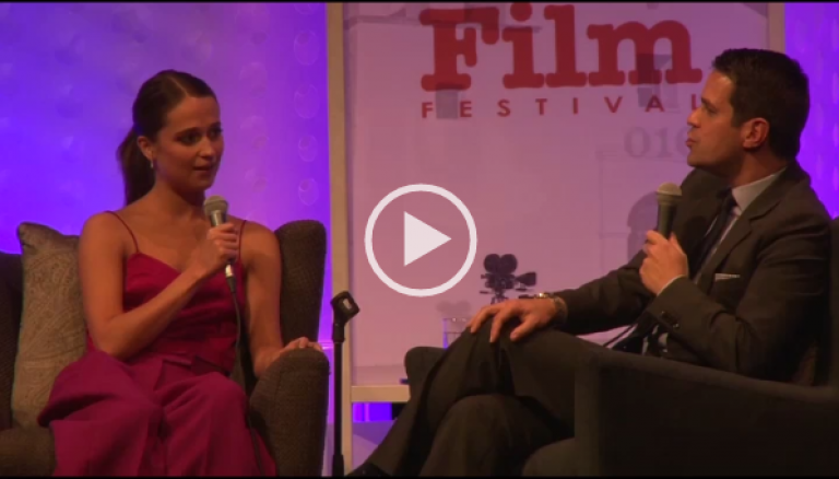 Alicia Vikander Talks About EX MACHINA