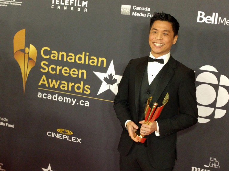 Andrew Chang Award Winner for Best Local News Anchor