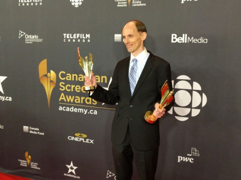 At the #CdnScreen16 Awards Gala on Tuesday, March 8th at the Westin Harbour Castle in Toronto. photo by zefred