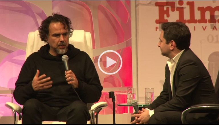 Alejandro Inarritu on Working w/ Leo DiCaprio THE REVENENT Location