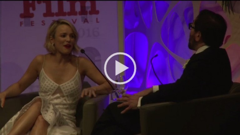 Rachel McAdams Talks About Her Oscar Nomination for SPOTLIGHT