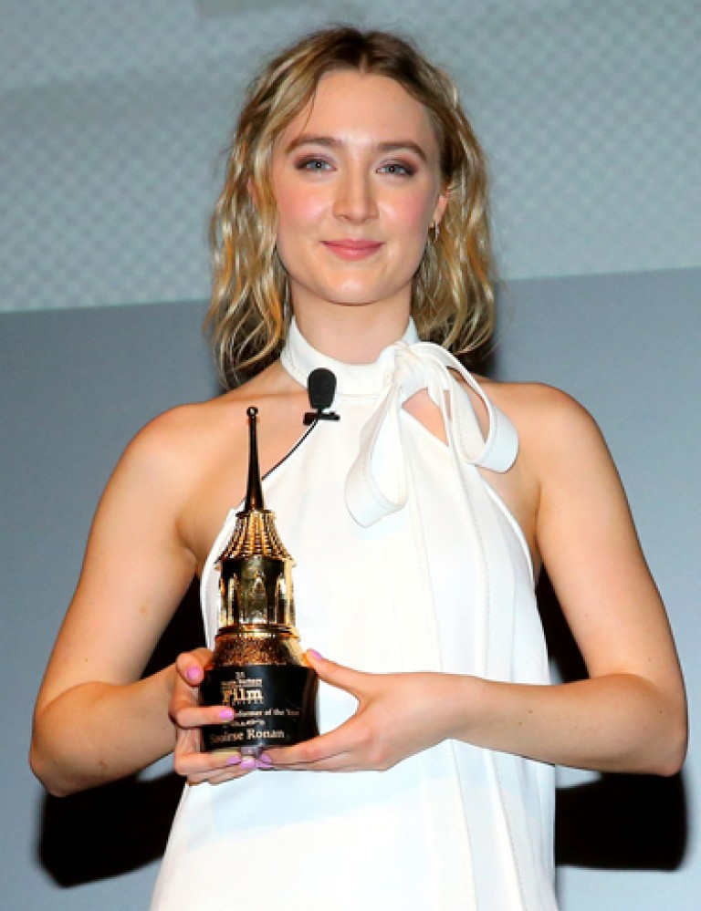 Saoirse Ronan 2016 SBIFF Outstanding Performer of the Year Award