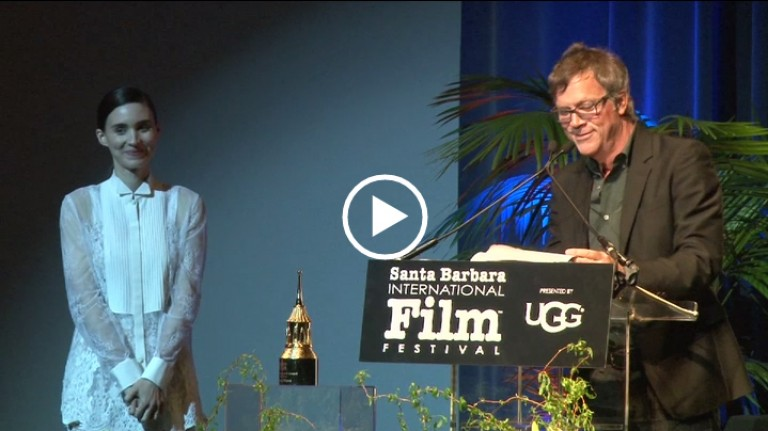Todd Haynes On 2016 SBIFF Cinema Vanguard Award Winner Rooney Mara