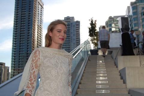 Actress Clara Pasieka