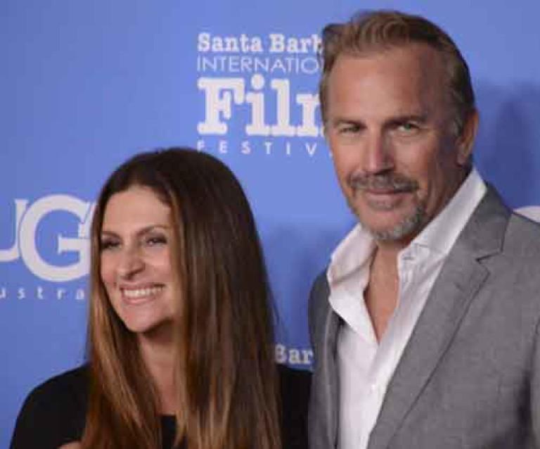 Director Nikki Caro & Kevin Costner @ SBIFF 15