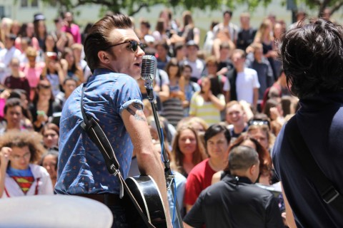 Drake Bell HBHS Event
