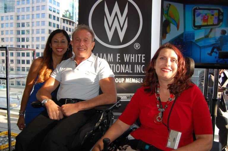 Friend with Paul Bronfman & Leesa Koplansky