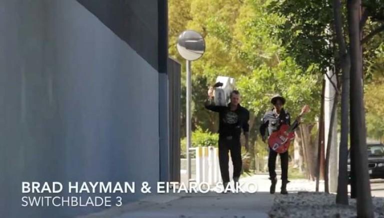 Brad Hayman & Eitaro Sako