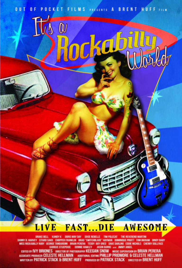 IT'S A ROCKABILLY WORLD Poster
