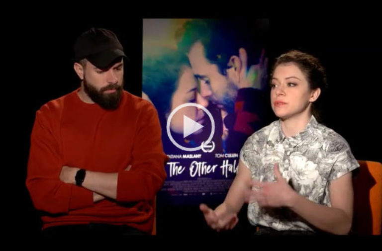 Tatiana Maslany w/ Tom Cullen Talks About Research On Mental Illness For Her Role in THE OTHER HALF