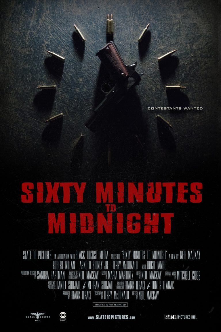 SIXTY MINUTES TO MIDNIGHT Poster